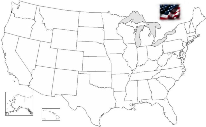 Feed Pictures - Printable Us State Map Quiz